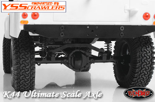 RC4WD K44 Ultimate Scale Cast Rear Axle