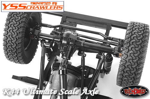RC4WD K44 Ultimate Scale Cast Front Axle