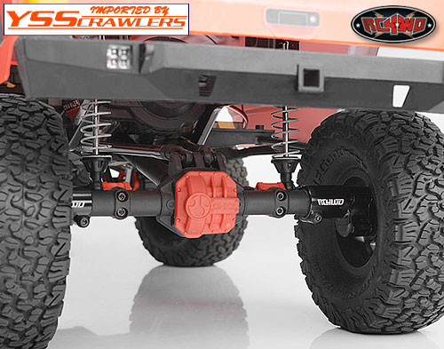 RC4WD ポータル リア アクスル for Axial AR44, SCX10-II