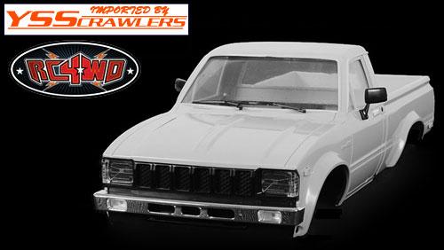RC4WD Mojave II プラスチックボディーセット for TF2 [プライマーグレー]