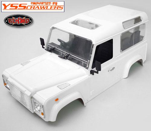 RC4WD ディフェンダー D90 プラスチック ボディー [ホワイト][未塗装&未組立]