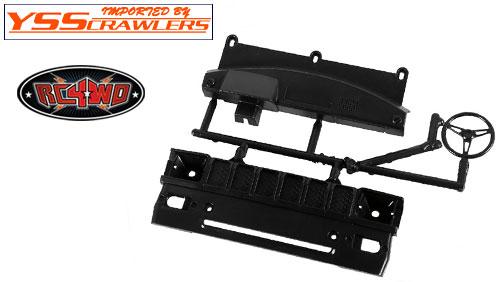 RC4WD グリル&ダッシュボードパーツ for ハイラックス & Mojave![ブラック]