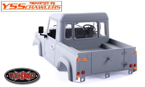 RC4WD Defender90 ピックアップ プラスチックボディー! [絶版]