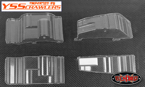 RC4WD Inner Fender Set for Cruiser Body![Clear]