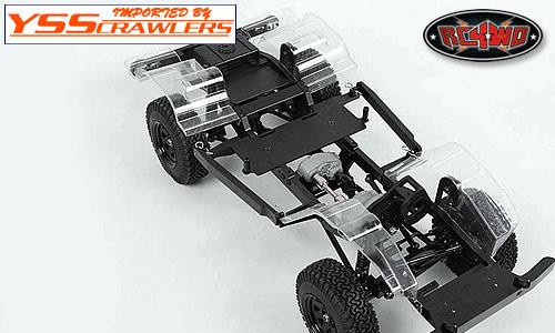 RC4WD インナーフェンダー for クルーザーボディー! [クリアー]