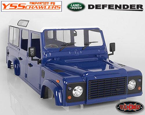 RC4WD ディフェンダー D110 プラスチック ボディー [ダークブルー]