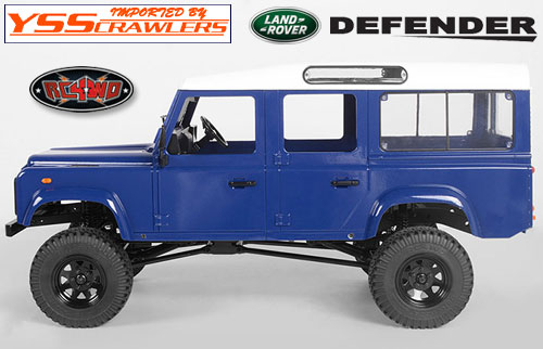 RC4WD Gelande II D110 Complete Body Set![Dark Blue]