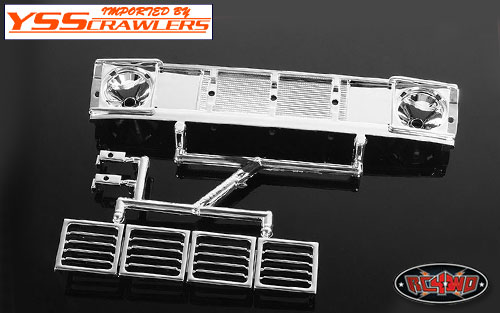 RC4WD Mojave II Front Grille![Chrome]