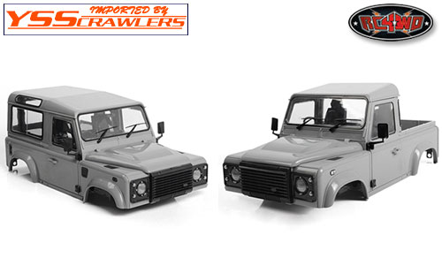 RC4WD ディフェンダー D90 プラスチック ボディー [2015][未塗装&未組立][即納]