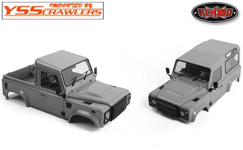 RC4WD ディフェンダー D90 プラスチック ボディー [2015][未塗装&未組立]