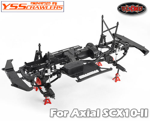 RC4WD リーフスプリング コンバージョン キット for Axial SCX10-II