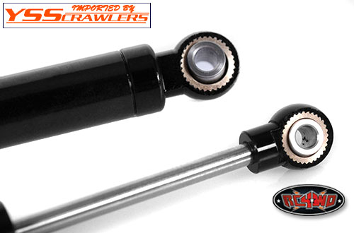 RC4WD Ultimate Alum Shock 100mm [2pcs][Black]