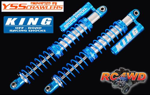 RC4WD King Off-Road ピギーバックショック with リザーバー [110mm][2本]