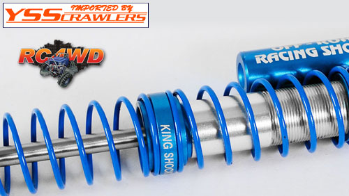 RC4WD King Off-Road Scale Piggyback Shocks w/Faux Reservoir