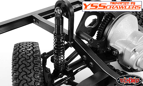 RC4WD Dual Spring 80mm Scale Black Shocks Ver2