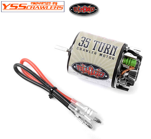 RC4WD Brushed 35T Boost Rebuildable Crawler Motor