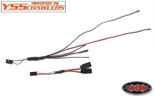 RC4WD LED ライティングシステム for 1/18 ジープボディー!
