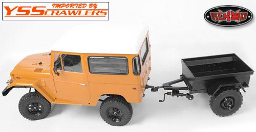 RC4WD 1/10 M416 スケール トレーラー!