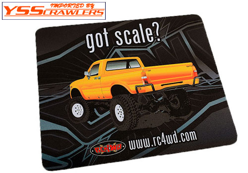 RC4WD オフィシャル マウスパッド! [got scale?]