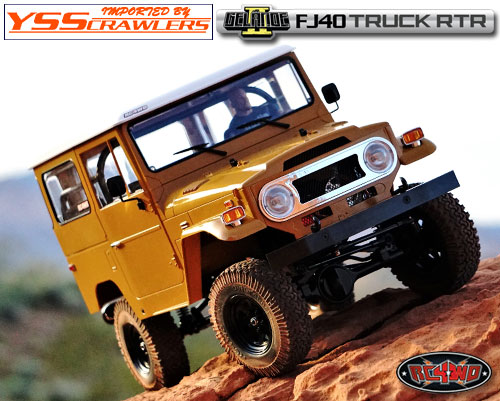 RC4WD Gelande II RTR Truck Kit w/Cruiser Body Set