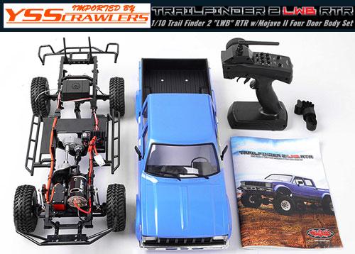 RC4WD トレールファインダー2 LWB RTR![MojaveII4ドアボディ付][予約]