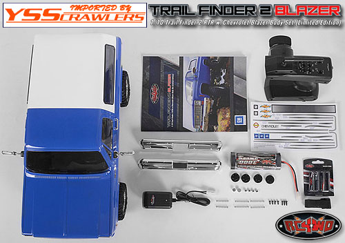 RC4WD Trail Finder 2 RTR w/Chevrolet Blazer Body Set (Limited Edition)