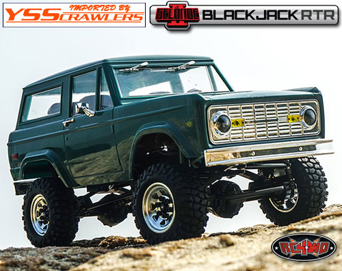 RC4WD 1/18 Gelande II RTR w/BlackJack Body Set!