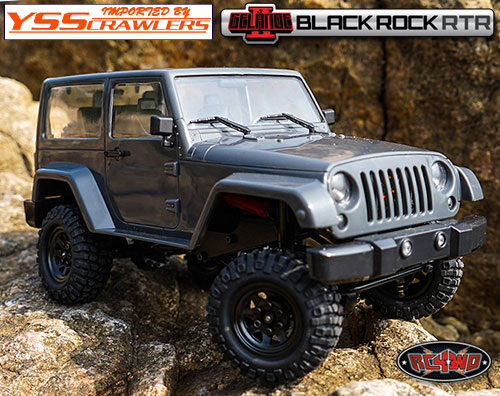 RC4WD 1/18 Gelande II RTR w/Black Rock Body Set!