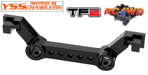 RC4WD #3 アルミ バンパーマウント for TF2