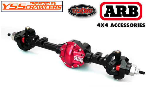 RC4WD ARB Diff Cover for the Machined K44 Axle