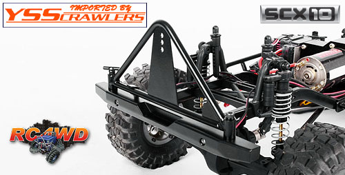 RC4WD タフ アーマー スペアタイヤ キャリア to fit Axial SCX10 [Ver 2]