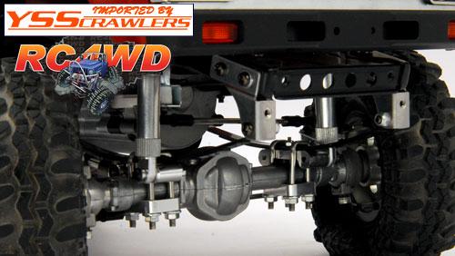 RC4WD アルミショックマウント for ハイラックス4WD [RN36] [4個]