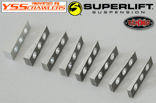 RC4WD スーパーリフト アライメント ブロック![角度シム]