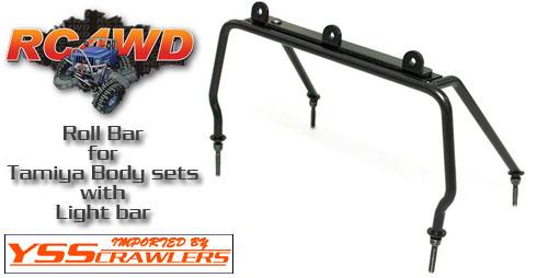 RC4WD ライトバー付きロールバー for ピックアップボディー系!