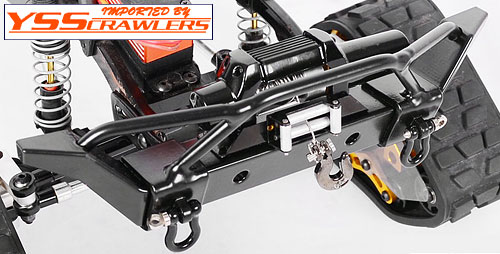 RC4WD Jeep JK Rampage Recovery Bumper to fit Axial SCX10 Chassis