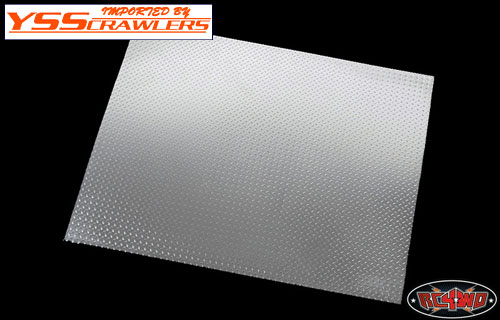 rc4wd Scale Diamond Plate Aluminum Sheets