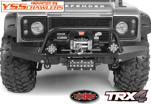 RC4WD メタルフロントウィンチバンパー for Traxxas TRX-4!