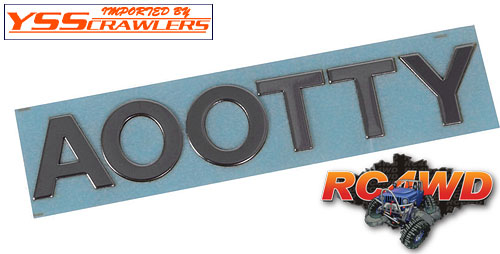 RC4WD Lettering Kit for Mojave and Tamiya Hilux/Tundra Bodies