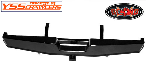 RC4WD Tough Armor Rear Bumper for Trail Finder 2 w/Hitch Mount!