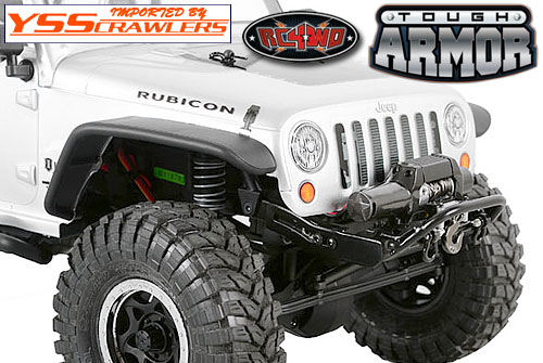 RC4WD タフアーマー ストゥービー フロント バンパー for Axial SCX10!