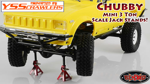 RC4WD Chubby Mini 3 TON Scale Jack Stands [2pcs]