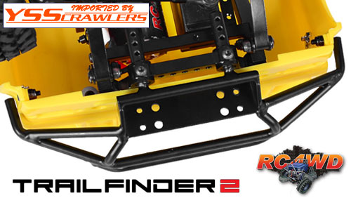 Tough Armor Front Tube Bumper w/Winch Mount for Trail Finder 2!