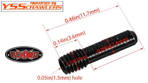 RC4WD M3 Drivehaft Screw Pin [5psc]