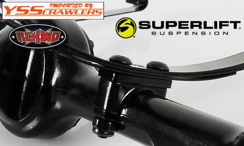 RC4WD スーパーリフト サスペンションリフトブロック![ブラック][2mm, 4mm, 6mm]