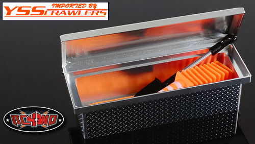 RC4WD Tuff Truck Saddle Tool Box for Trail Finder 2