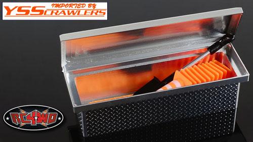 RC4WD スタッフトラックサドルツールボックス for トレールファインダー2