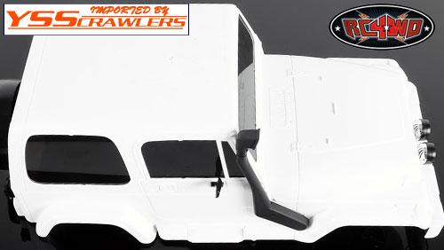 RC4WD スノーケル for タミヤ ジープ ラングラー!
