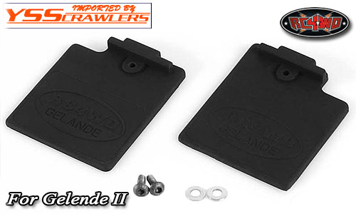 RC4WD Mud Flap for Gelande 2! [Rubber]