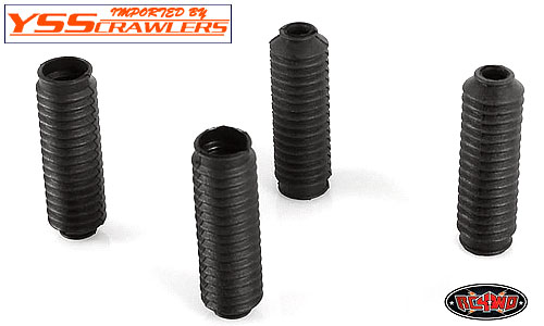 RC4WD Super Scale Shock Boot [Black][4pcs]