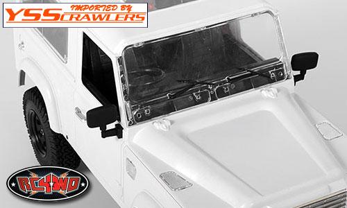 RC4WD 1/10 スーパースケール ラバーミラー [タイプB]